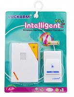 Беспроводной дверной звонок LUCKARM Intelligent на батарейках (D9688), фото 1