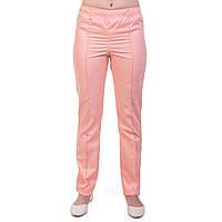 Медицинские женские брюки персик