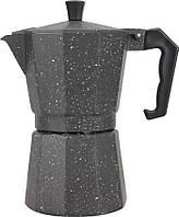 Гейзерная кофеварка из литого алюминия - 9 чашек Benson BN-160, фото 1