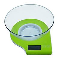 Кухонные электронные весы Maestro MR-1800 (от 1 г до 5 кг) | весы с чашей Маэстро | весы для кухни Маестро, фото 1