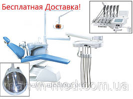 СТОМАТОЛОГИЧЕСКАЯ УСТАНОВКА GRANUM TS6830 (KREDO) Верхняя Подача Инструментов.
