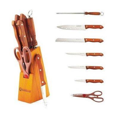 Набір ножів з нержавіючої сталі на підставці MAESTRO MR-1403 (8 пр)   кухонний ніж Маестро   ножі Маестро