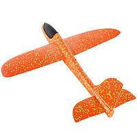Сверх быстрый метательный самолет планер трюкач на дальнее расстояние (Оранжевый), фото 1