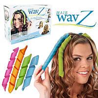 Волшебные бигуди для волос любой длины Hair Wavz | бигуди-спиральки, фото 1