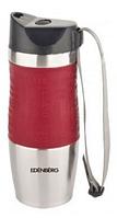 Термокружка из нержавеющей стали Benson BN-971 (500 мл) красная | термочашка Бенсон | термос Бэнсон, фото 1
