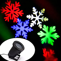 Лазерный проектор для дома Led Strahler Schneeflocke Z2 | гирлянда лазерная подсветка для дома, фото 1