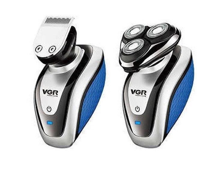 Мужская электробритва VGR V-300 USB | аккумуляторная машинка для бритья и стрижки