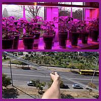 Мощная 18 ВТ 1,2 М фитолампа / фитосветильник / лампа для растений