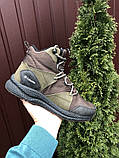 Мужские кроссовки зимние Columbia темно зеленые  ( зима ), фото 4