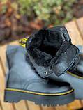 Женские ботинки Dr.Martens Jadon Black Premium (FUR), фото 2