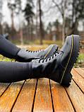 Женские ботинки Dr.Martens Jadon Black Premium (FUR), фото 4