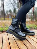 Женские ботинки Dr.Martens Jadon Black Premium (FUR), фото 6