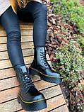 Женские ботинки Dr.Martens Jadon Black Premium (FUR), фото 8