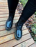 Женские ботинки Dr.Martens Jadon Black Premium (FUR), фото 9