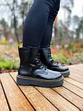 Женские ботинки Dr.Martens Jadon Black Premium (FUR), фото 10