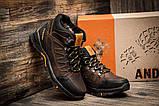 Мужские зимние кожаные ботинки Columbia NS Chocolate, фото 3