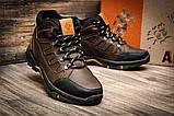 Мужские зимние кожаные ботинки Columbia NS Chocolate, фото 4