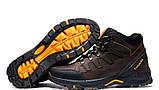 Мужские зимние кожаные ботинки Columbia NS Chocolate, фото 6
