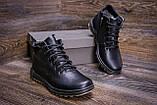 Мужские зимние кожаные ботинки  Е-series New Line, фото 8