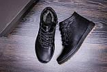 Мужские зимние кожаные ботинки  Е-series New Line, фото 10
