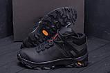 Мужские зимние кожаные ботинки  Е-series  Black, фото 7