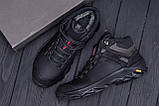 Мужские зимние кожаные ботинки  Е-series  Black, фото 8