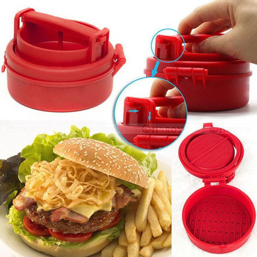 Ручной одинарный пресс для приготовления котлет, гамбургеров Stufz Sliders