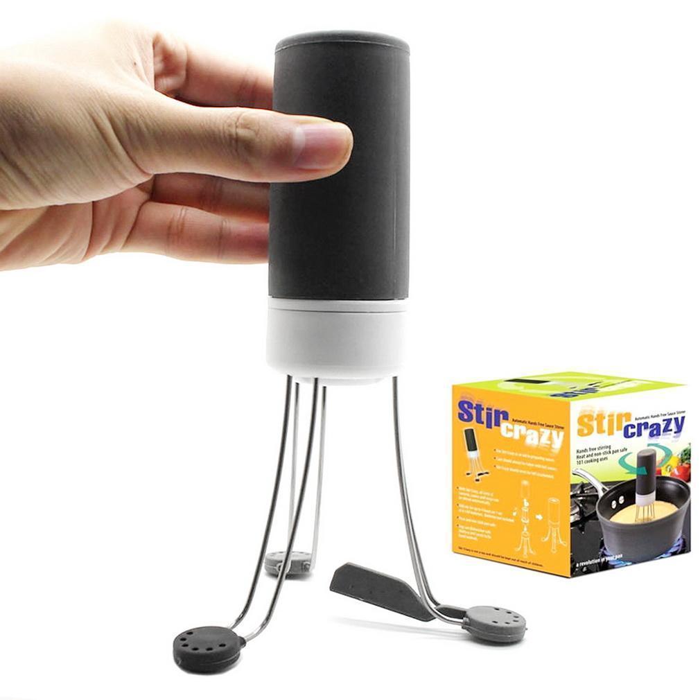 Автоматическая мешалка - венчик Stir Crazy (Стир Крейзи) | мешалка для соусов | робот венчик