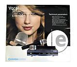 Радіосистема DM EW 100 і 2 бездротових мікрофона   радіомікрофон   бездротової мікрофон, фото 3