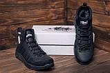Мужские зимние кожаные ботинки Pitbull Black, фото 8