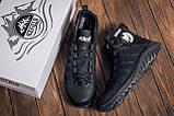 Мужские зимние кожаные ботинки Pitbull Black, фото 9