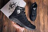Мужские зимние кожаные ботинки Pitbull Black, фото 10