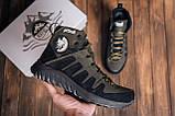 Мужские зимние кожаные ботинки Pitbull Olive, фото 7