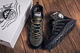 Мужские зимние кожаные ботинки Pitbull Olive, фото 9
