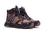 Мужские зимние кожаные ботинки MERRELL SLAB Olive, фото 4