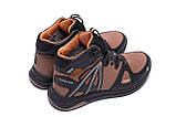 Мужские зимние кожаные ботинки MERRELL SLAB Olive, фото 6