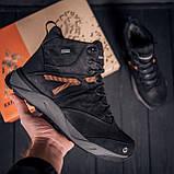 Мужские зимние кожаные ботинки MERRELL Black, фото 5