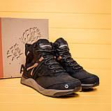 Мужские зимние кожаные ботинки MERRELL Black, фото 8