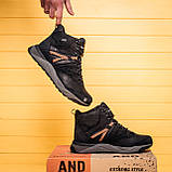 Мужские зимние кожаные ботинки MERRELL Black, фото 10