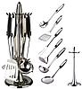 Кухонный набор из 7 предметов Maestro MR-1546 | лопатка | вилка для мяса | половник | шумовка | картофелемялка