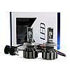 Светодиодные LED лампы T6 H4 для автомобиля | автолампы TurboLed 6000K/8000Lm | автомобильные лед лампы