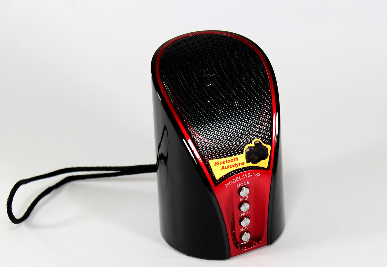 Портативная компактная блютуз колонка SPS WS 133+BT | аудио колонка | аудиосистема