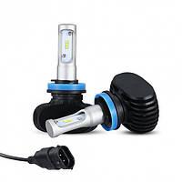 Светодиодные LED лампы S1 H11 для автомобиля | автолампы 6000K 4000lm Цоколь | лед автолампы, фото 1