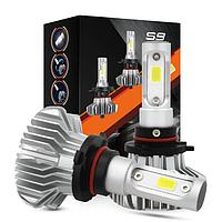 Светодиодные LED лампы S9 H4 для автомобиля   автолампы 6500K 4000lm Цоколь   лед автолампы, фото 1