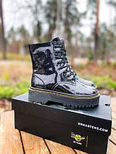Женские ботинки Dr.Martens Jadon Galaxy Premium (FUR)