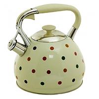 Чайник Edenberg EB-1908 со свистком из нержавеющей стали 3 л   Свистящий металлический чайник, фото 1