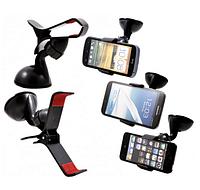 Универсальный автомобильный держатель прищепка для телефонов Car Bracket HOLDER   автодержатель телефона, фото 1