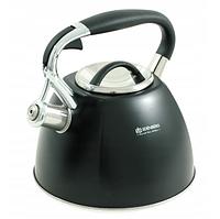 Чайник Edenberg EB-1982 со свистком из нержавеющей стали 3 л | Свистящий металлический чайник, фото 1