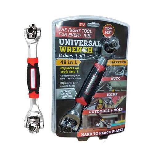 Универсальный многофункциональный гаечный ключ Universal Tiger Wrench 48 в 1