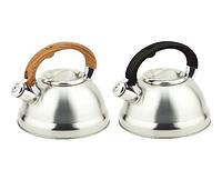 Чайник Edenberg EB-3539 со свистком из нержавеющей стали 3 л | Свистящий металлический чайник, фото 1
